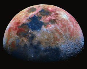 Jak přišla Země k Měsíci