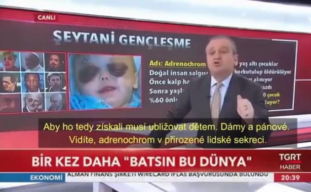 Šokující reportáž státní turecké televize