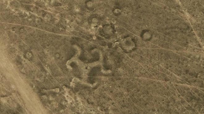 geoglyfy v Kazachstánu
