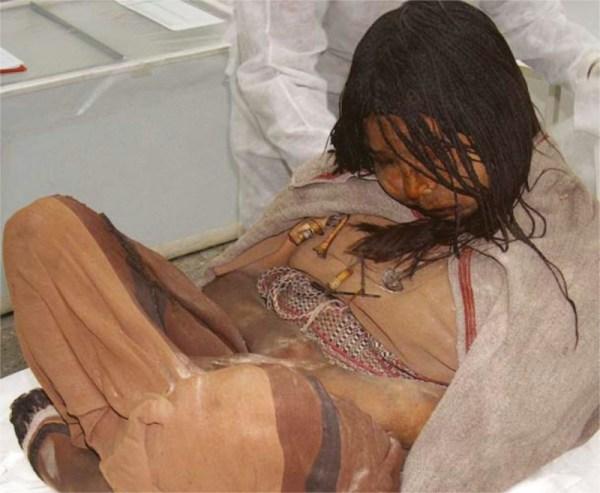 Obětované dítě Inků