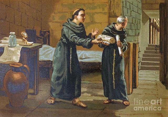 Středověký mnich popsal automobily a letadla