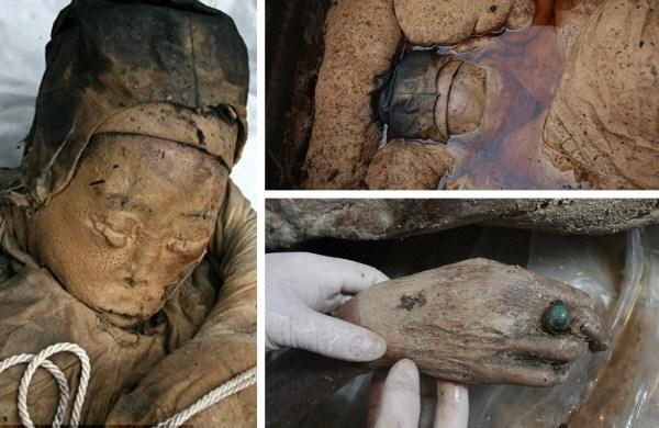 čínská mumie